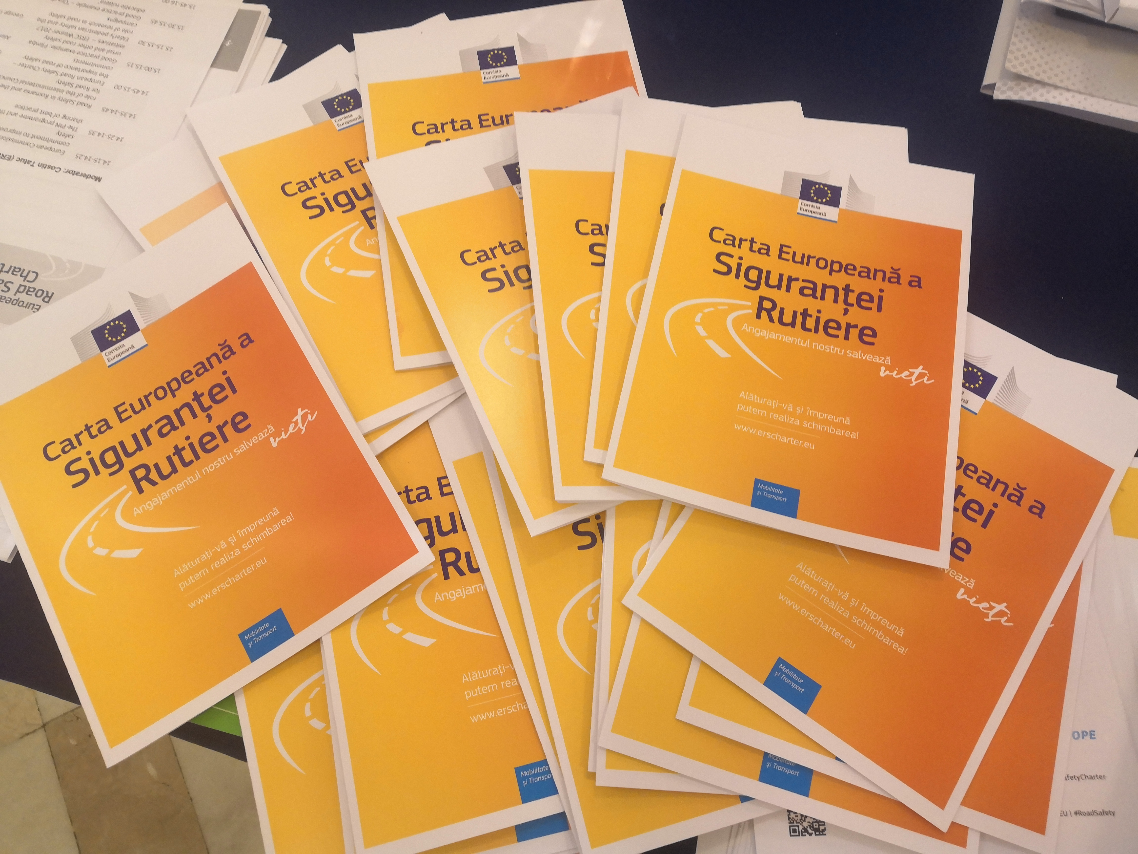 European Road Safety Charter Workshop In Bucharest Romania